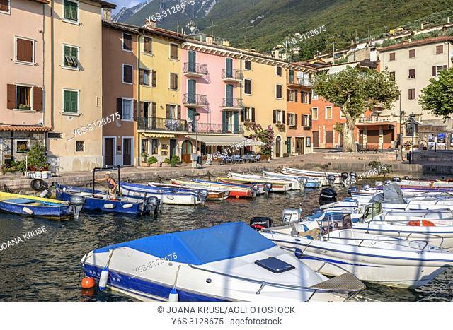 Brenzone sul Garda, Veneto, Lake Garda, Italy, Europe