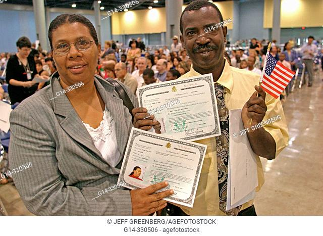Naturalization ceremony Stock Photos and Images | age fotostock