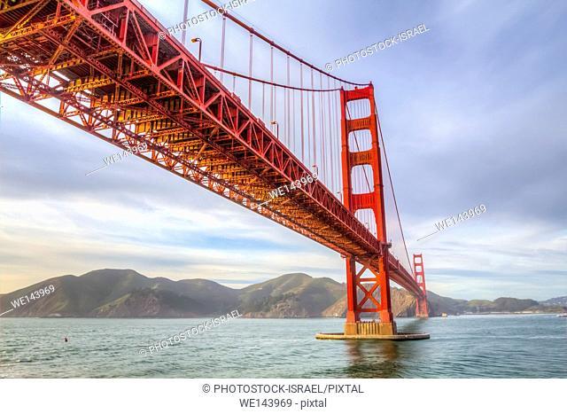 San Francisco California USA, Golden Gate Bridge