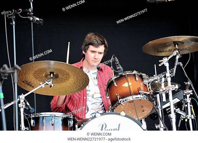 Day two of the Wickerman Music Festival 2015 in Dumfries, Scotland. Featuring: Admiral Fallow Where: Dumfries, United Kingdom When: 25 Jul 2015 Credit: WENN