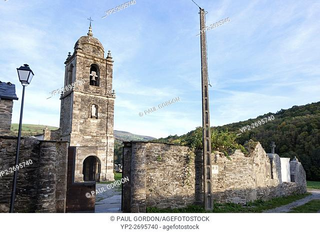 Triacastela, Spain: Iglesia de Santiago