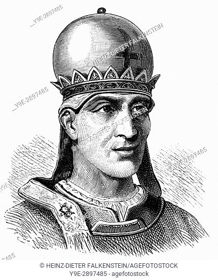 Pope Siricius, 334-399, Pope from 384 to his death in 399