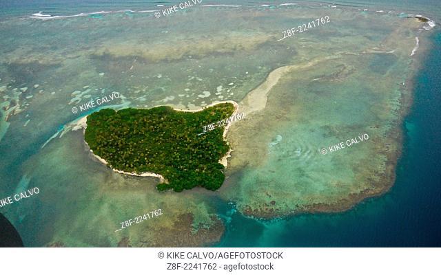 Aerial photo of San Blas Islands