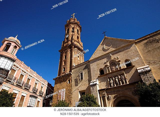 Collegiate Church of San Sebastian, Antequera, Malaga Province, Andalusia, Spain