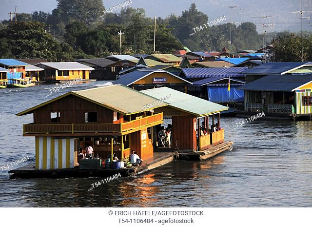 Party Houseboats on the Kwai River