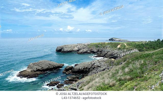 Sonabia,coast of cantabria,cantabria province,spain