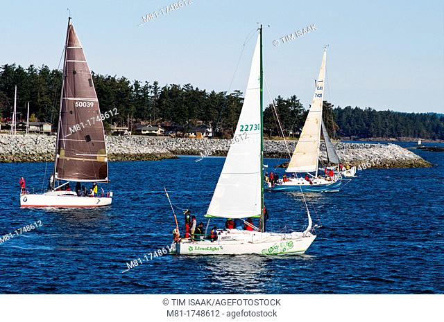 Sidney North Saanich Yacht Club 2012 Patos Island Classic race  Sidney, British Columbia, Canada