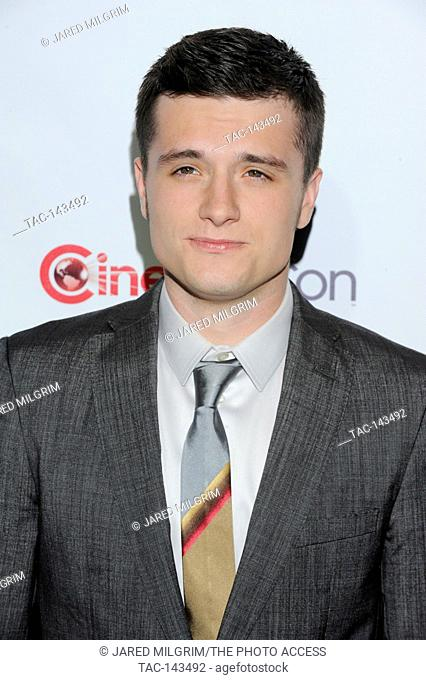 Actor Josh Hutcherson arrives at CinemaCon's Big Screen Achievement Awards ceremony at Caesars Palace on April 26, 2011 in Las Vegas, Nevada