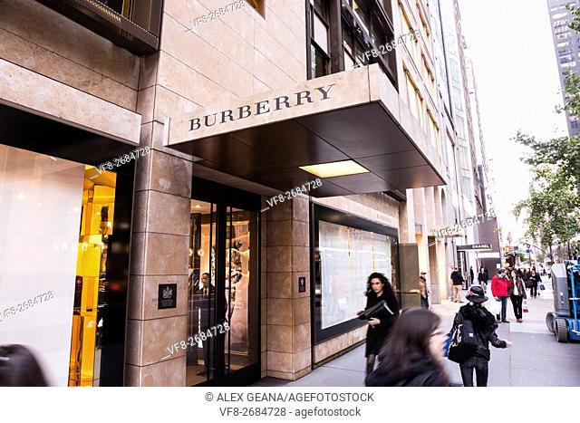 The london retailer has a home on Fifth Avenue in New York City