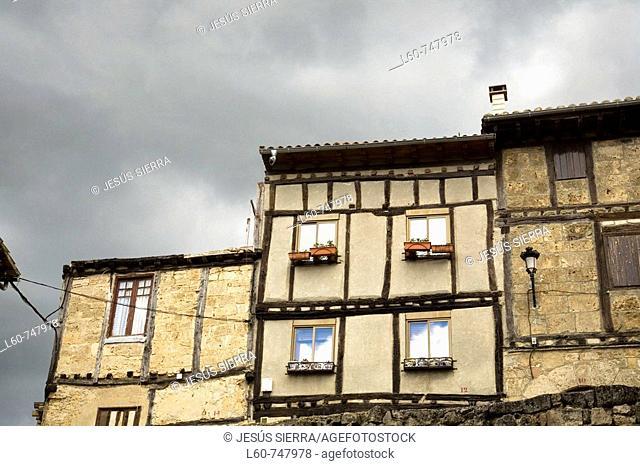 Frias. Burgos province, Castilla-Leon, Spain