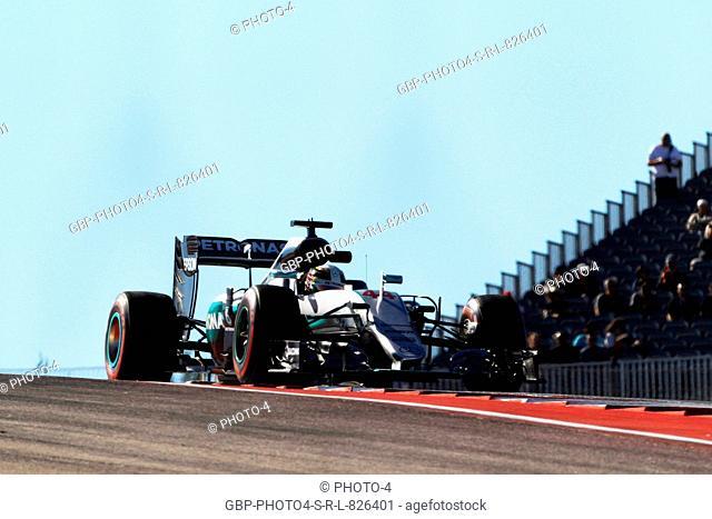 21.10.2016 - Free Practice 1, Lewis Hamilton (GBR) Mercedes AMG F1 W07 Hybrid