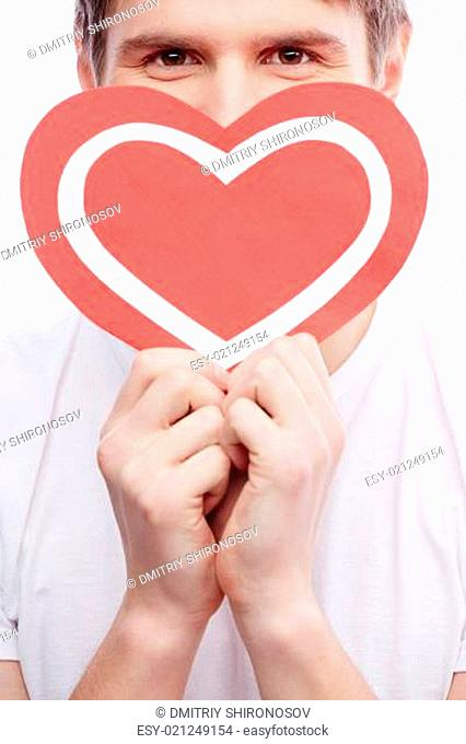 Guy with heart