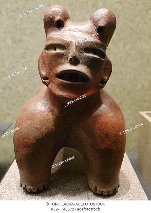 Pre-columbian figure, Anthropology National Museum, Mexico City