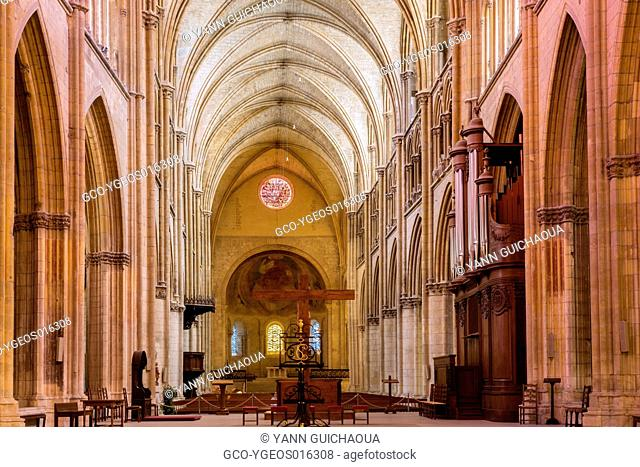 Cathedral Saint Cyr and Sainte Julitte, Nevers, Nievre, France