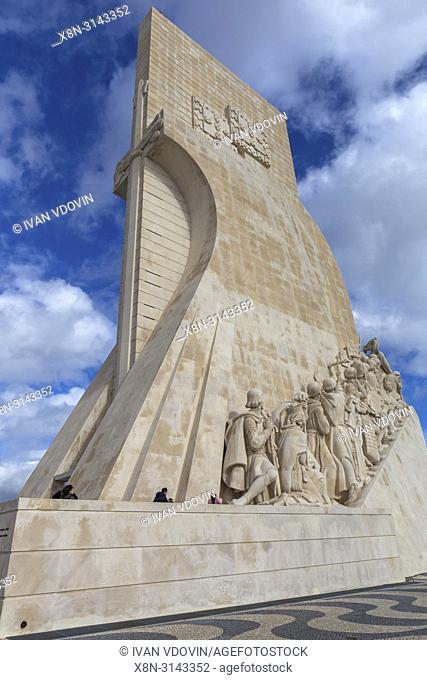 Padrao dos Descobrimentos, Monument of the Discoveries, Lisbon, Portugal