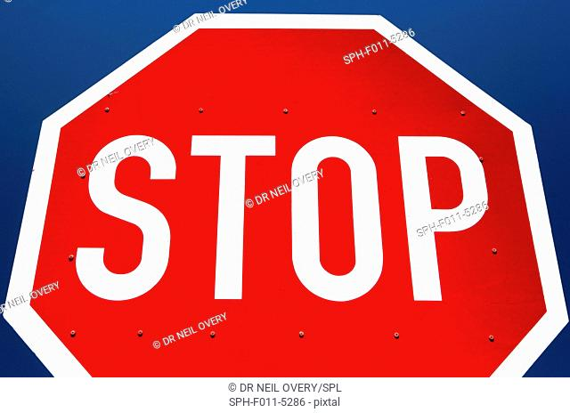Stop sign, Cape Town, South Africa