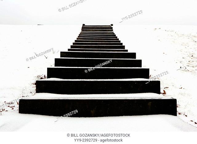 Staircase to Nowhere - Brevard, North Carolina