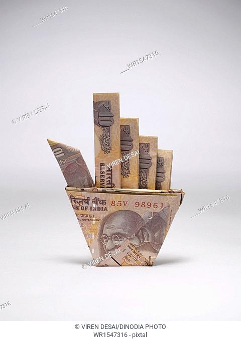 origami currency India