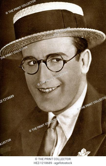 Harold Lloyd, American actor and film maker, 1933. Lloyd (1893-1971) was most famous for his hugely successful and influential silent film comedies