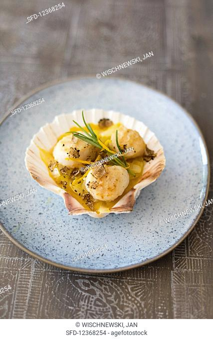 Jacob mussels with chicory