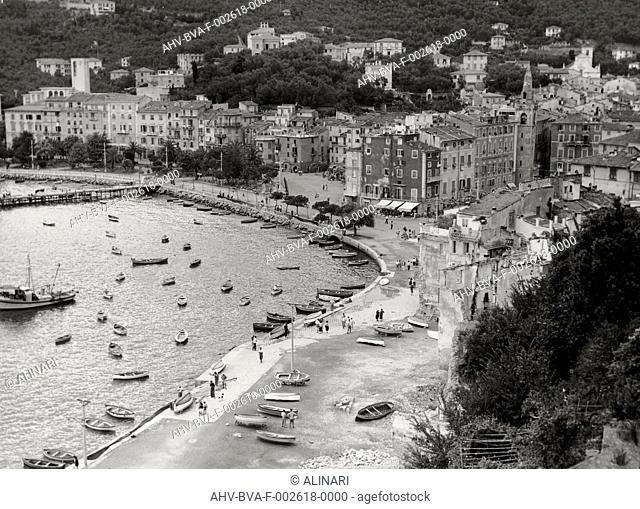 Lerici, shot 1950-1960 by Balocchi Vincenzo