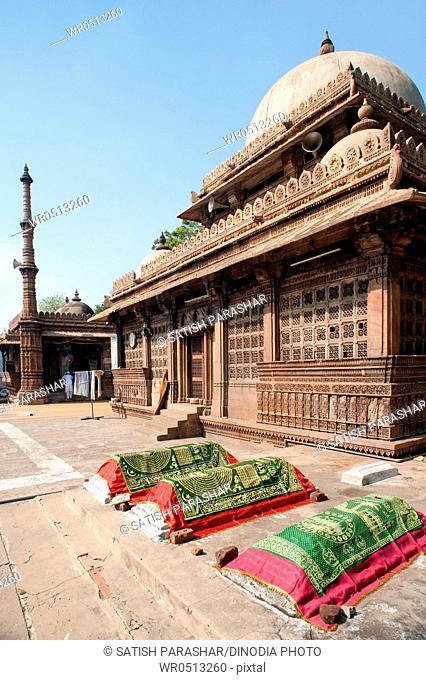 Tomb of rani sipri's mosque , Ahmedabad , Gujarat , India