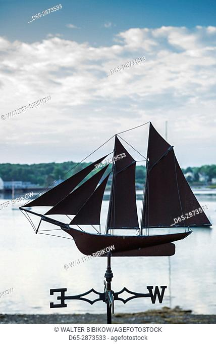 USA, Massachusetts, Cape Ann, Annisquam, Annisquam Harbor, weather vane