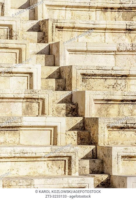 Roman Odeon Theater, Amman, Amman Governorate, Jordan