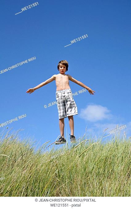 Boy, jump 12 years