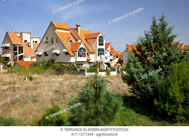 Swiss architecture in the village of Ifrane, Morocco