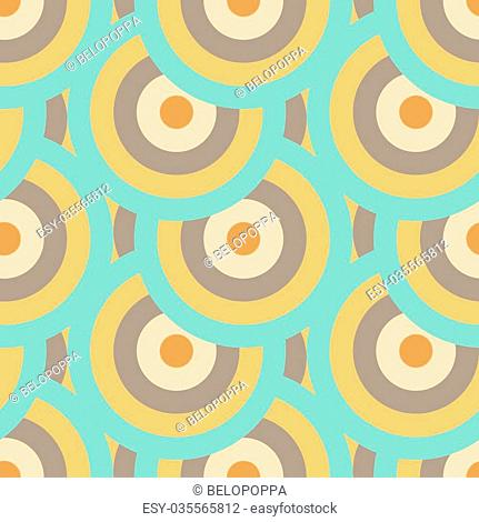 Retro vector seamless patterns tiling. Endless texture can be used for wallpaper, pattern fills, web page background,surface textures