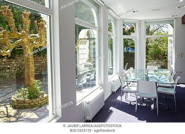 Meeting room, Office building, Villa Yeyette, Donostia, San Sebastian, Gipuzkoa, Basque Country, Spain