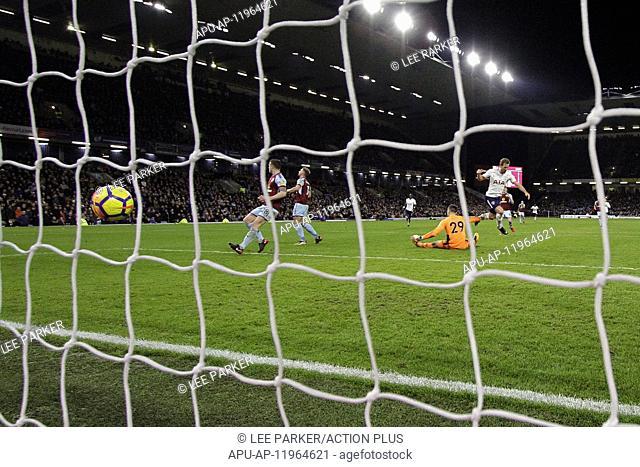 2017 EPL Premier League Football Burnley v Spurs Dec 23rd. 23rd December 2017, Turf Moor, Burnley, England; EPL Premier League football