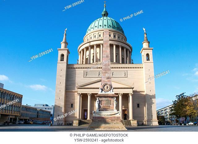 Nikolai-Kirche or Church of St Nicholas, Potsdam, Germany