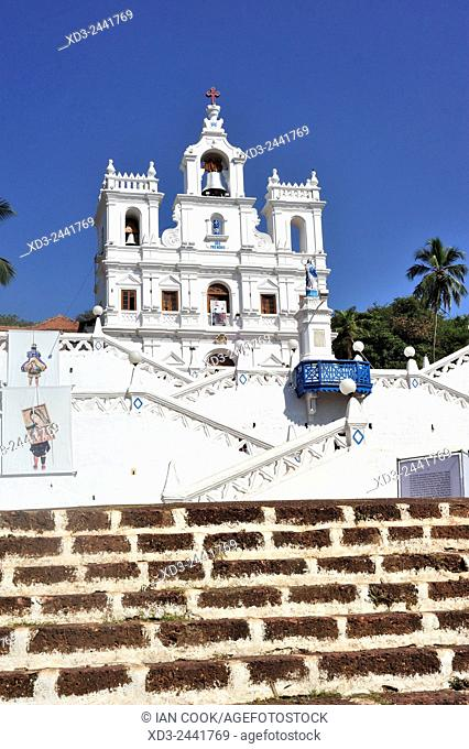 Our Lady of the Immaculate Conception church, Panjim or Panaji, Goa, India