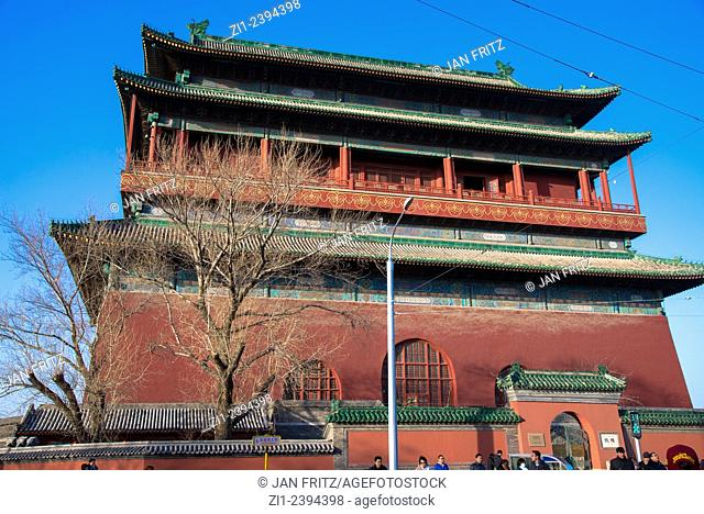 drumtower in Beijing