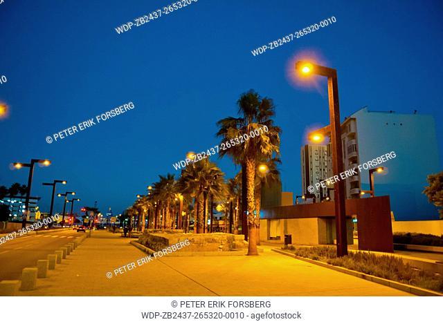 Avenida Segismundo Moret, Algeciras, Andalucia, Spain
