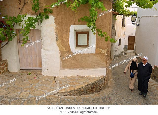 Old town, Mojacar, Almeria province, Andalusia, Spain