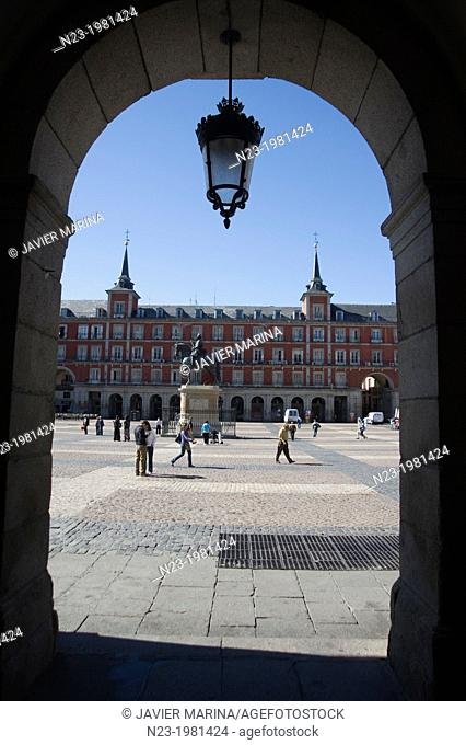 Plaza Mayor, Madrid, Spain