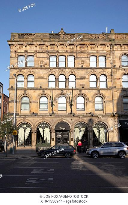 Malmaison Hotel, Belfast City Centre, Northern Ireland, UK  The Malmaison boutique hotel is a luxury hotel based in two former seed warehouses retaining a lot...