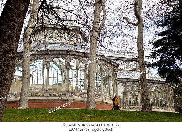 Crystal Palace Retiro park, Madrid
