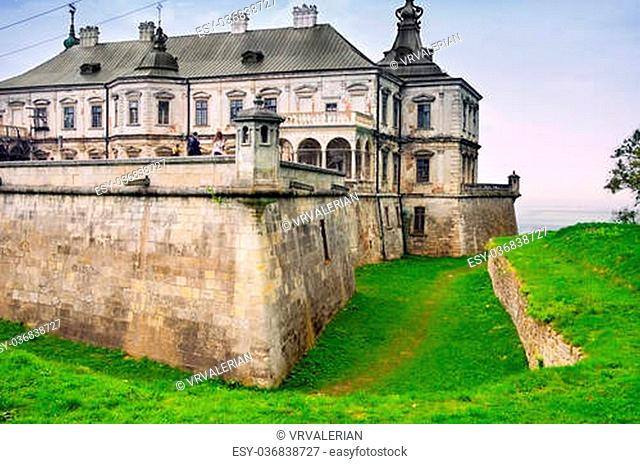 The old castle. Castle in the western Ukraine