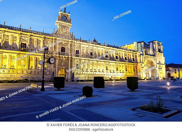 Hotel Parador of San Marcos in Leon, Way of St. James, Leon, Spain