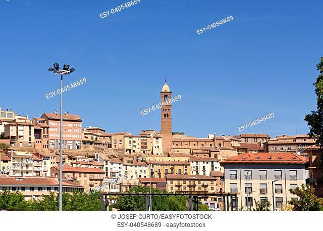 view of Tarazona, Zaragoza province, Aragon, Spain
