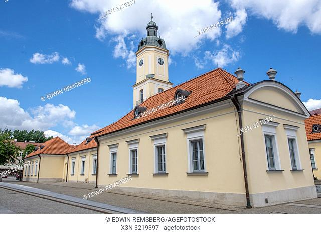 The City Hall of Bialystok, Poland