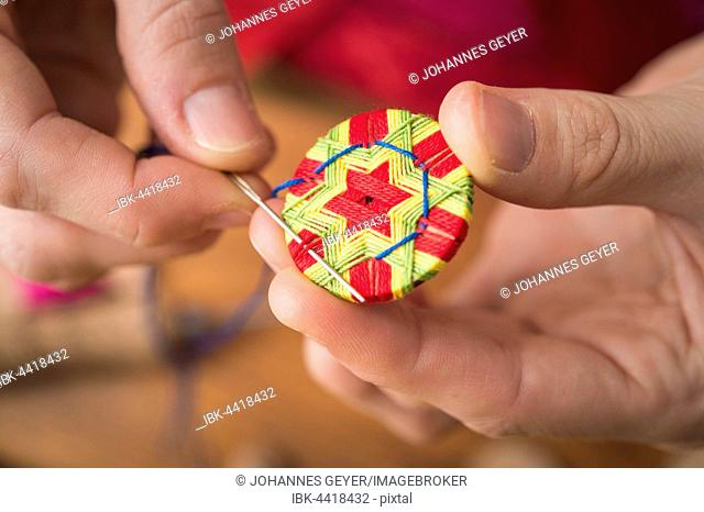 Button maker pattern Stock Photos and Images | age fotostock