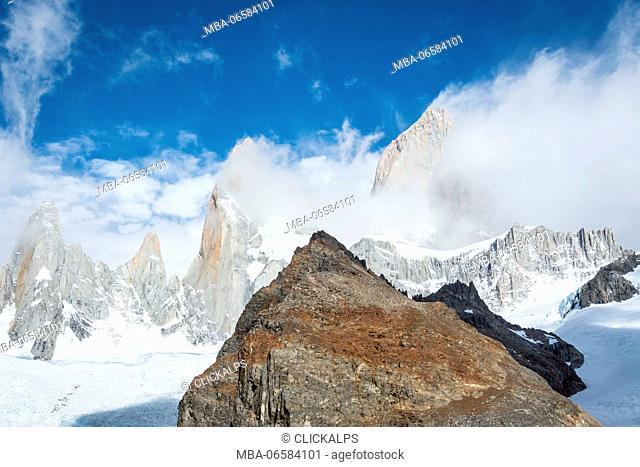 Argentina, Patagonia, El Chalten, Los Glaciares National Park, Fitz Roy