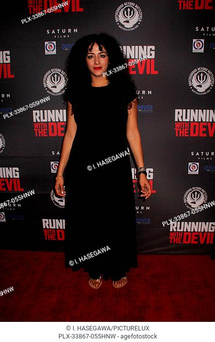 "Elia Aboumrad 09/16/2019 """"Running with the Devil"""" premiere held at Writers Guild Theater in Beverly Hills, CA Photo by I"