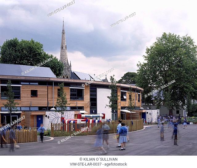 LARMENIER AND SACRED CATHOLIC PRIMARY SCHOOL, LONDON, UNITED KINGDOM, Architect STUDIO E ARCHITECTS
