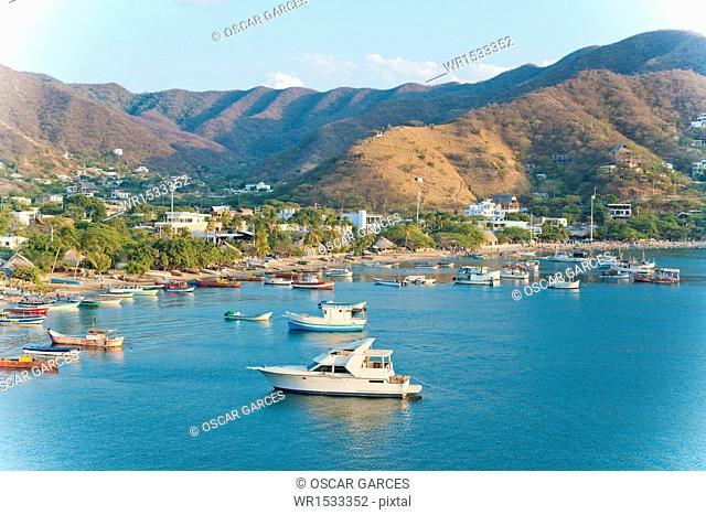 Bay Taganga, Taganga, Santa Marta, Magdalena, Colombia